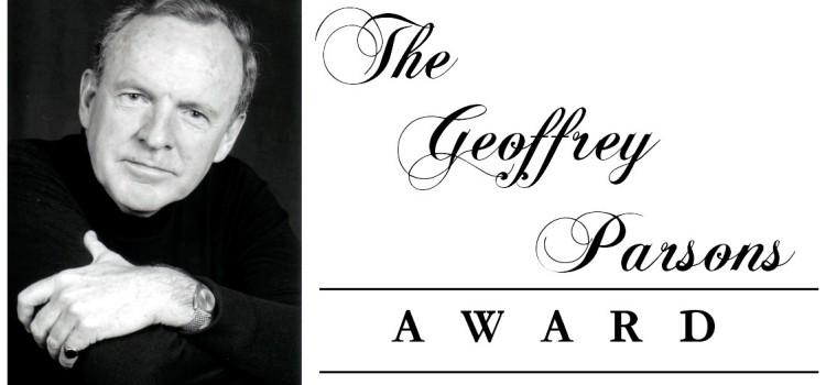2014 Geoffrey Parsons Award – Entry Form