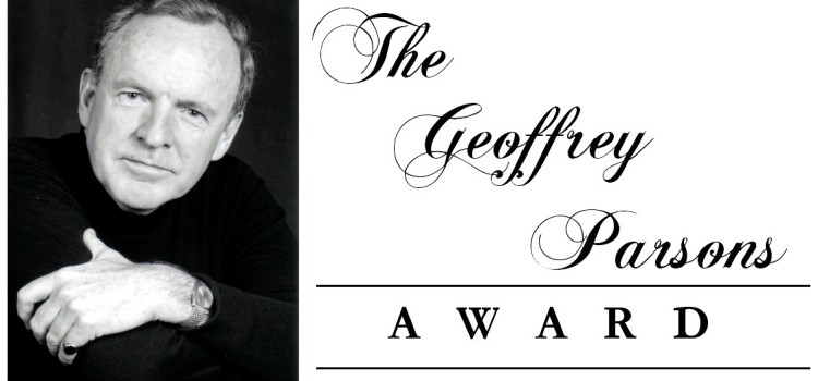 2014 Geoffrey Parsons Award – Entry Form