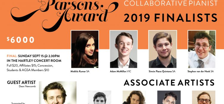 Geoffrey Parsons Award Finalists 2019